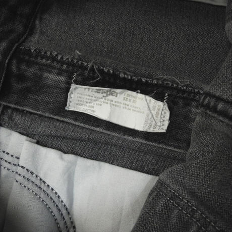 90s Wrangler Denim Pants Black[C-0057]
