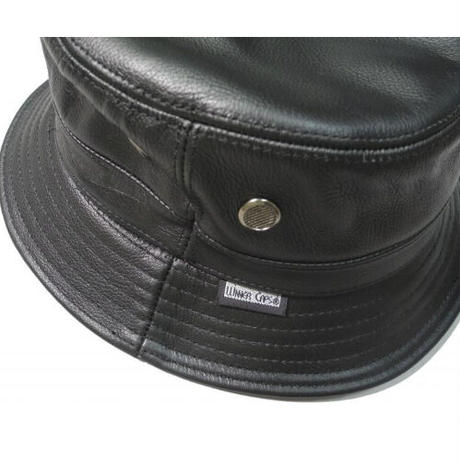 Winner Caps Cowhide Leather Bucket Hat
