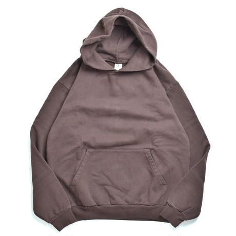 Los Angeles Apparel 14oz Garment Dye Hoodie Chocolate