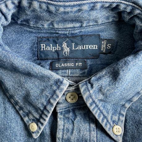 Used Polo Ralph Lauren  L/S Denim Shirt C-0505