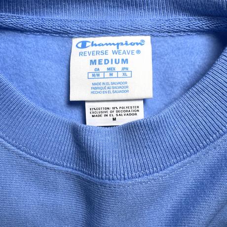 "Champion Reverse Weave Sweatshirt ""North Carolina University"" Royal/Navy"