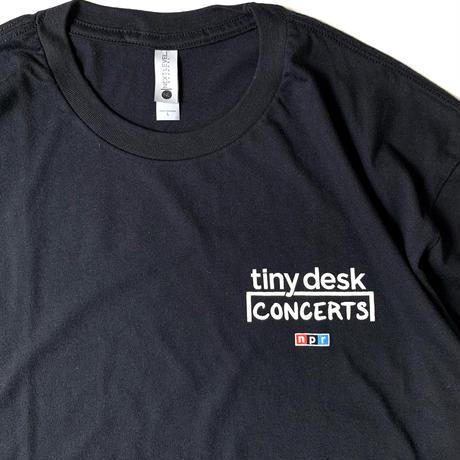 NPR Tiny Desk Concerts T-Shirt Black