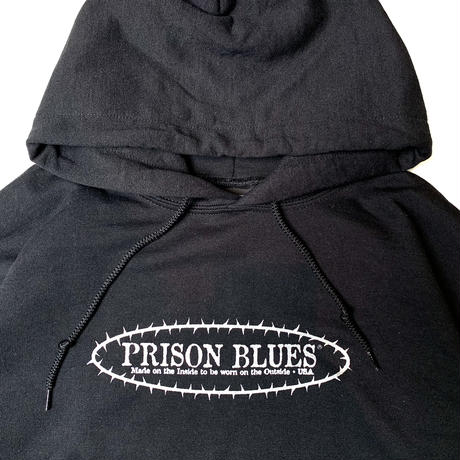PRISON BLUES PULL OVER SWEAT HOODIE