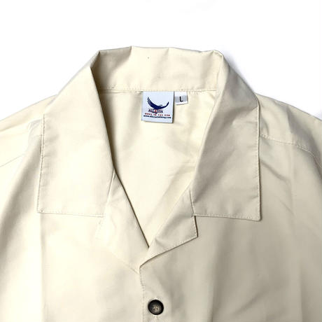 ALL USA CLOTHING S/S CAMP SHIRT IVORY