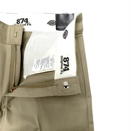 Dickies 874 Flat Front Work Pants Khaki (KH)