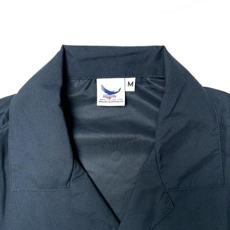 ALL USA CLOTHING S/S CAMP SHIRT NAVY