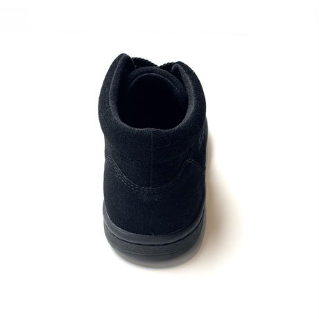 Simple Retro 91 Mid-Top Sneaker Triple Black