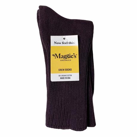 Maggie's Organics Organic Cotton Crew Socks