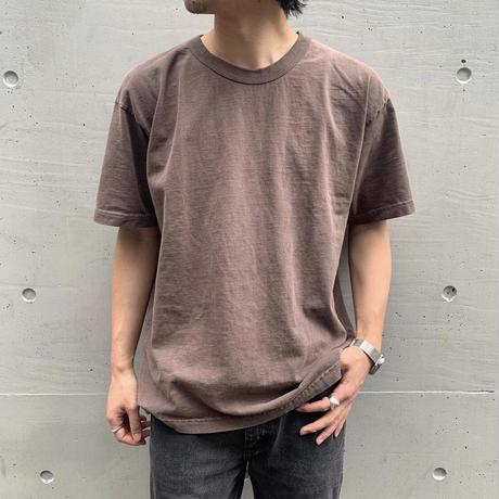 Los Angeles Apparel 8.5oz Binding Garment Dye Short Sleeve T-Shirts Clove