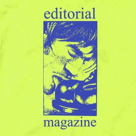 Editorial Magazine Slob Tee Safety Green