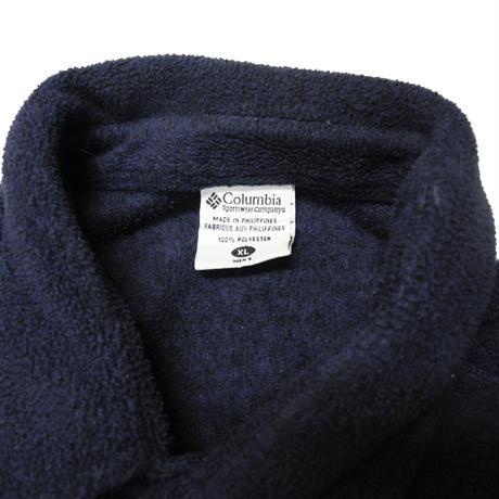 90's Columbia Fleece Shirt Jacket [C-0012]