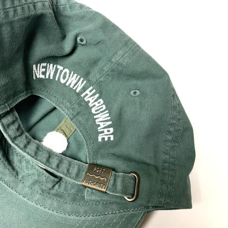 NEWTOWN HARDWARE RENEGADE  HARDWARE HAT  GRN