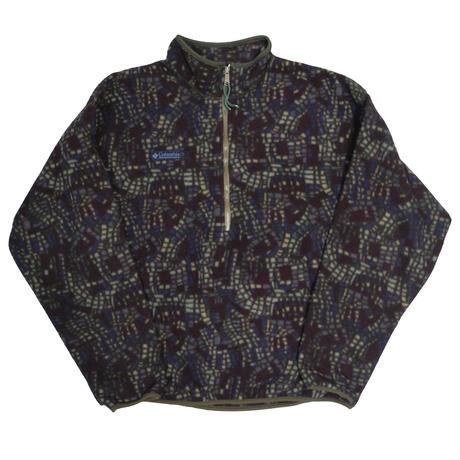 90's Columbia Pullover Fleece Jacket [C-0041]