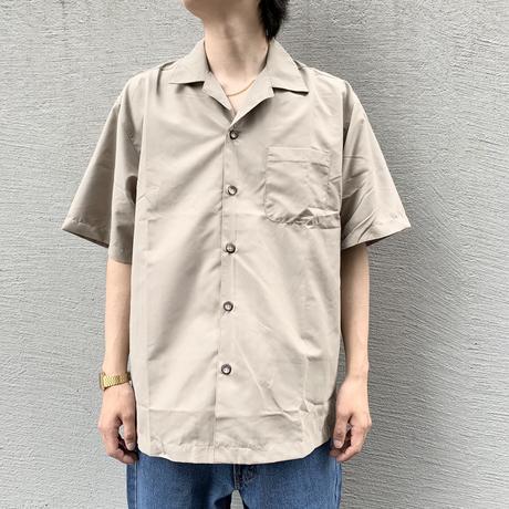 ALL USA CLOTHING S/S CAMP SHIRT KHAKI