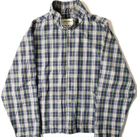 90s Eddie Bauer Cotton Plaid Jacket 【02-0002】