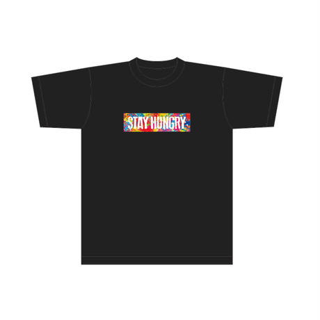 「STAY HUNGRY」ツアー半袖Tシャツ / 黒