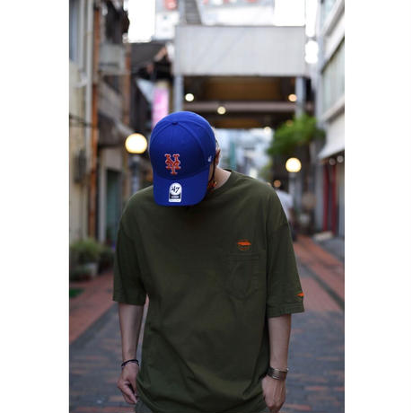 STAY HUNGRY S/S Shirt カーキ