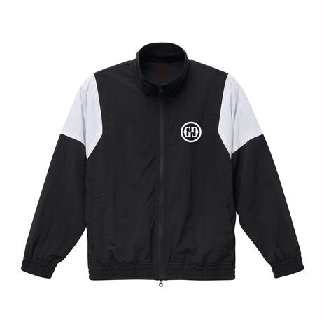「GG」トラックジャケット 黒/白