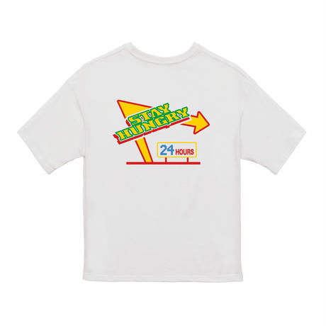 24HOURS STAY HUNGRY S/S Shirt White