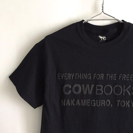 Book Vendor T-shirts (Logo /Black×Black)