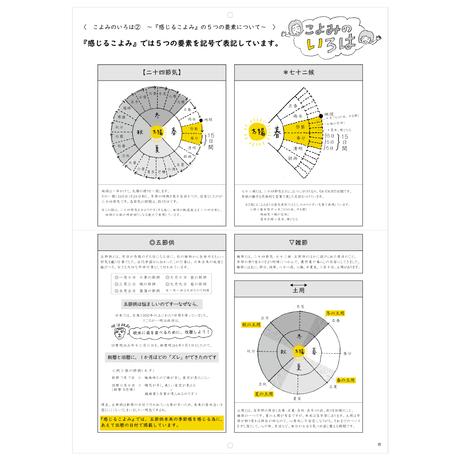 新月から始まる旧暦カレンダー「感じるこよみ」二〇二一