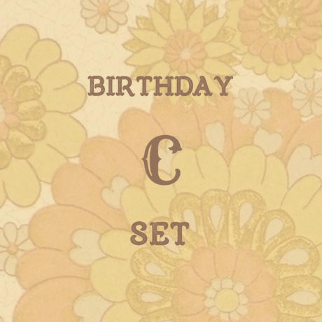 birthday C set