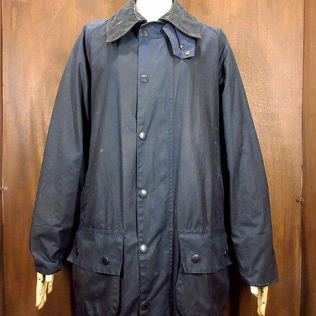 ビンテージ90's●Barbour BEAUFORT オイルドジャケット C38/97cm●210331n2-m-jk-oil バブアービューフォート英国3ワラント古着