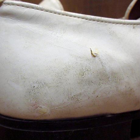 ビンテージ70's●DEADSTOCK Kinney Shoes ローファー白 Size 9D●210327n4-m-lf-27cm デッドストック革靴レザーシューズメンズ