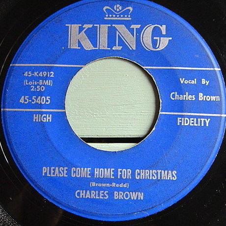 CHARLES BROWN/AMOS MILBURN●KING RECORDS 45-5405●200625t1-rcd-7-fnレコード7インチ米盤ソウルR&B 60's