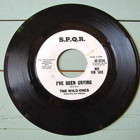 THE WILD ONES●I'VE BEEN CRYING/A LITTLE BIT O' SOUL S.P.Q.R. 45-3316●201201t1-rcd-7-fnレコード米盤ソウル45