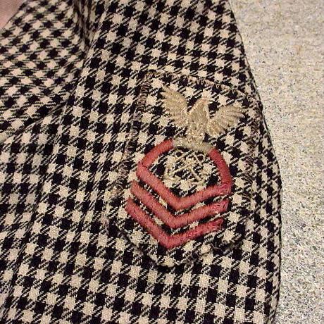 ビンテージ30's40's●キッズチェックウールコート&ベレー帽●210211s4-k-ct 子供服キッズファッションアウター古着