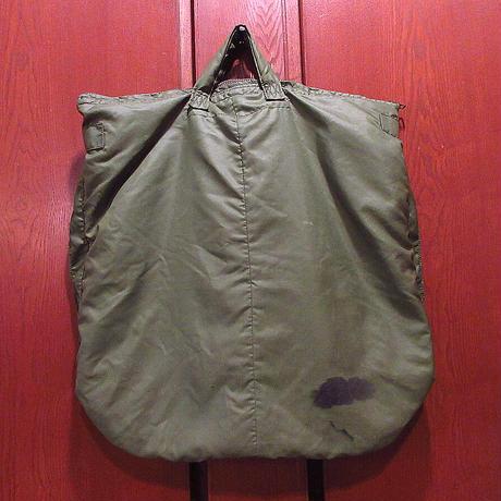 ビンテージ80's●USAFヘルメットバッグ●210315f4-bag-hndハンドバッグナイロンかばん米軍実物ミリタリー