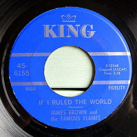 JAMES BROWN and the FAMOUS FRAMES●I GOT THE FEELIN'/IF I RULED THE WORLD●200625t2-rcd-7-fnレコードファンク