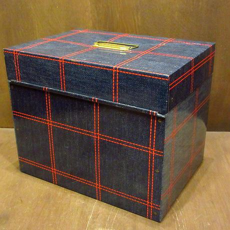 ビンテージ70's●Ballonoff PORTA FILE メタルボックス●210609n7-bxs ブリキケース箱雑貨小物入れインテリアディスプレイ