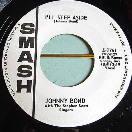 JOHNNY BOND●I'LL STEP ASIDE/MISTER SUN SMASH S-1761●210112t1-rcd-7-cfレコード米盤45カントリー7インチ62年60's