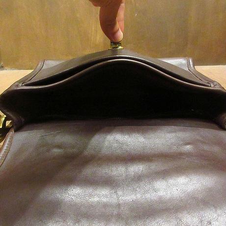 ビンテージ●オールドコーチ2WAYレザーショルダーバッグ茶●210606n7-bag-shd COACH鞄レディースブラウン