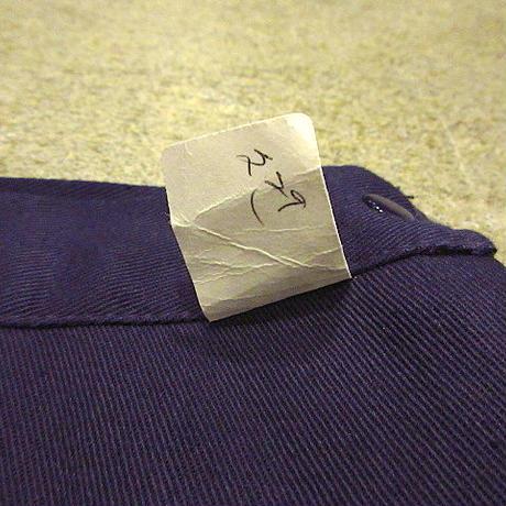 ビンテージ60's●DEADSTOCK Belly Brooks Brandレディースコットンサイドボタンショーツ紺size 30●200713s4-w-sht-W29女性用USA
