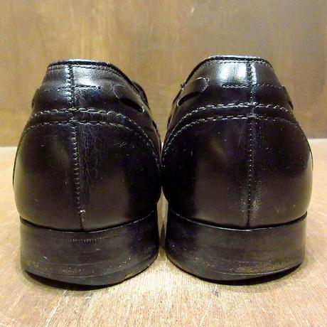 ビンテージ●MADE IN ENGLAND CHEANEY Royal Tweed タッセルローファー黒 9 1/2●210324n6-m-lf-275cm 英国製チーニー革靴レザーシューズ