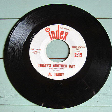 AL TERRY●TODAY'S ANOTHER DAY/BOURBON STREET PARADE Index RECORDS IDX 5026●210119t1-rcd-7-cfカントリー45