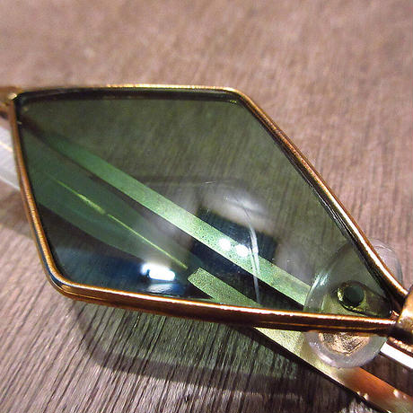 ビンテージ70's●DEADSTOCKダイヤ型サングラス●210504n8-eygls 1970sデッドストックレトロヒッピー
