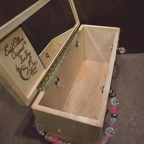 ビンテージ60's●Enid Collinsウッドボックスバッグ●210401n5-bag-hndエニッドコリンズハンドバッグ木箱USA