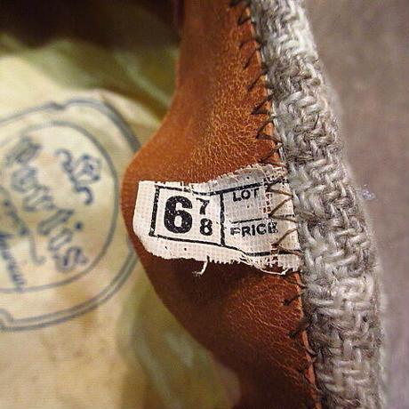 ビンテージ40's●Portis 8パネル千鳥格子ウールキャスケット6 7/8●201213n4-m-cp-cas 1940sニュースボーイキャップ