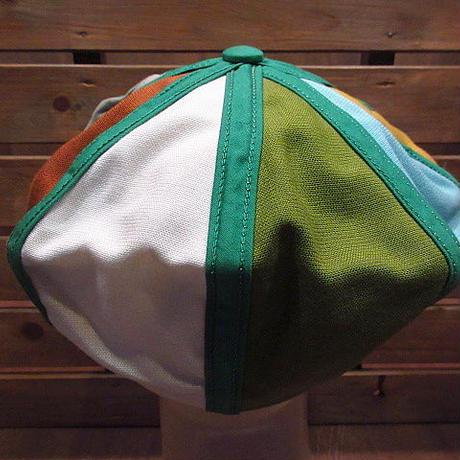 ビンテージ40's50's●DEADSTOCK Goorin Bros 8パネルカラフルキャスケット7●200712n1-m-cp-cas 1940s1950sデッドストックキャップ帽子