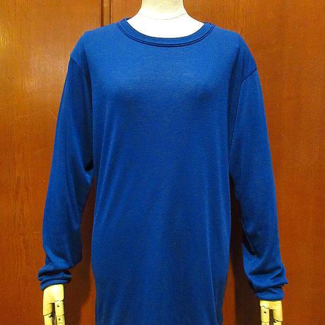 Patagonia CAPILENEアンダーウェアシャツ青size L●210405s3-m-udwr古着インナーシャツ長袖TシャツロンTアウトドアパタゴニアキャプリーン