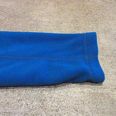 Patagoniaハーフジップフリースジャケット青size L●210427s3-m-jk-flcパタゴニアアウトドア古着メンズ刺繍ポリエステル上着アウター