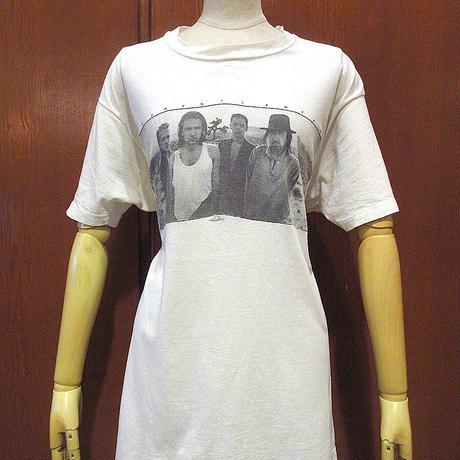 ビンテージ80's●U2 THE JOSHUA TREE 1987年ツアーTシャツ白●210608s6-m-tsh-bn古着ユートゥーユーツーロックバンドバンT