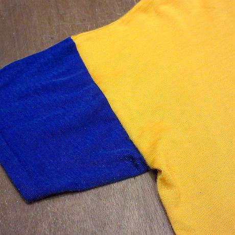 ビンテージ60's●MASON バイカラーアスレチックTシャツ L●210609n1-m-tsh-ot ナンバリング半袖トップス古着