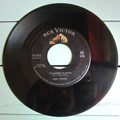CHET ATKINS●GALLOPIN' GUITAR/WILDWOOD FLOWER RCA VICTOR 447-0454●210417t2-rcd-7-otレコード7インチ米盤US盤カントリー