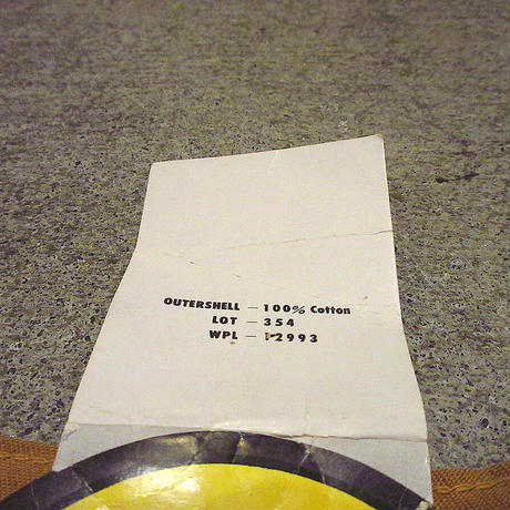ビンテージ70's●DEADSTOCK BLACK SHEEPコットンハンティングベストsize S●210605s5-m-vsブラックシープアウトドアデッドストック