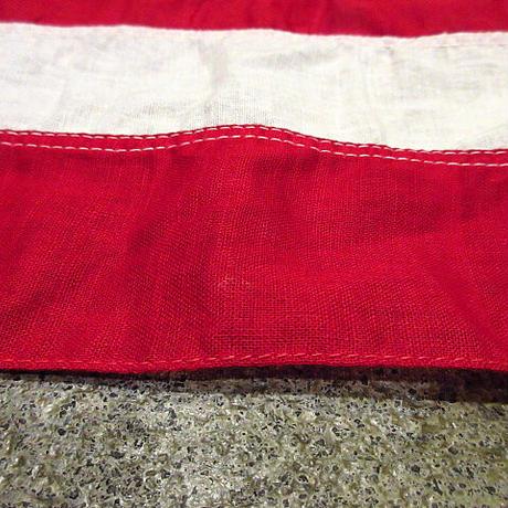 ビンテージ40's50's●48星アメリカ星条旗size 87cm×146cm●210209s4-sign 1940s1950s国旗USAフラッグ48スター雑貨インテリア
